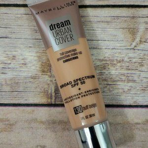 Maybelline Dream Urban Cover Sunscreen Makeup 130